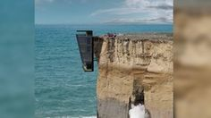 VIDEO: Absurd Home You Could Never Afford. Cliff house!