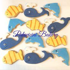 Y obvio las galletas que van con el pastel bajo del mar!