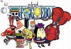 One piece SpongeBob SquarePants