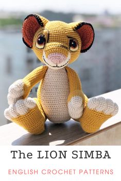 Easy Crochet Animals, Crochet Deer, Diy Crochet And Knitting, Crochet Animal Patterns, Stuffed Animal Patterns, Amigurumi Patterns, Crochet Dolls, Knitting Patterns, Diy Crochet For Beginners