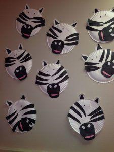 10 Best Zebra Craft Idea For Kids Zebra Craft Preschool Crafts Preschool