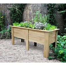 Transform your garden with wilko's range of outdoor plant pots and planters. Browse for terracotta plant pots, metal square or bell planters and more. Raised Planter Beds, Raised Flower Beds, Planter Pots, Outdoor Plants, Outdoor Gardens, Vegetable Planters, Vegetable Bed, Terracotta Plant Pots, Wood
