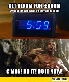 That Very Intense Minute