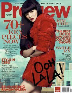 Kim Chiu Preview Magazine Philippines October 2010