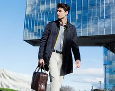 Fay City Diaries: an endless adventure in Barcelona. Men's Spring - Summer 2014 Raincoat.