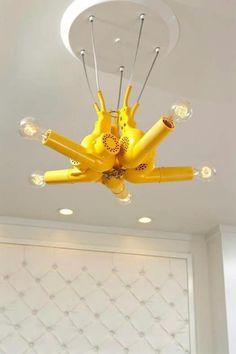 Blow dryer lighting