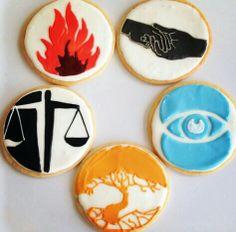 Divergent cookies