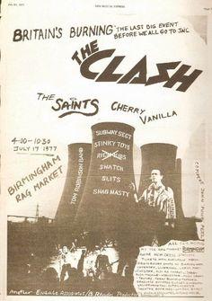 The Clash, 1977