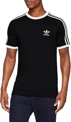 Super Qualität, fällt aber größer aus  Bekleidung, Herren, Streetwear, Shirts & Tops Men Design, Streetwear, Tee Shirts, Tees, Adidas Originals Mens, Striped Tee, Shirt Designs, Stripes, Super