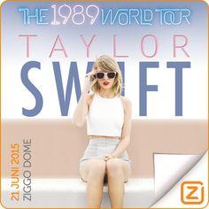 Taylor Swift | 21 uni 2015 | Ziggo Dome, Amsterdam
