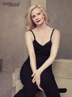 THR Emmy Roundtable: Behind-the-Scenes Photos of TV's Hottest Drama Actresses: Monica Potter