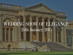 Date for your diary, a #weddingshow in Stowe House #Buckingham, Sunday 25th #January 2015