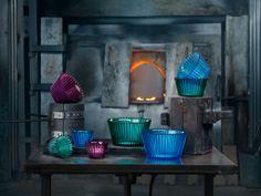 Cup Cake bowls by Anna Ehrner for Kosta Boda. Photo: Jonas Lindström