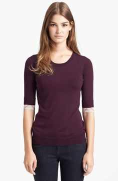 Burberry Brit Merino Wool Sweater available at #Nordstrom (size L please!)