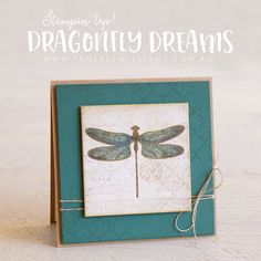 By Teneale Williams | Dragonfly Dreams, Music Sheet and Hello Friend Stamp Sets