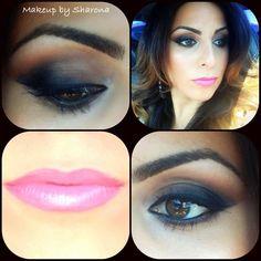 Mac shadows: Carbon & Brown Script. Find me in Facebook & Instagram: Makeup by Sharona