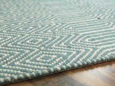 The Ives rugs feature herringbone design in fashionable natural colourways. The Cotton and Jute flatweave pile is dense and heavy giving each rug a quality look and feel. Duck Egg Blue Dulux, Duck Egg Blue Velvet, Duck Egg Kitchen, Duck Egg Rug, Duck Egg Bedroom, Space Saving Staircase, Patchwork Rugs, Buy Rugs