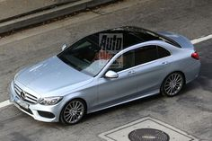 The New Mercedes C-class model 2015