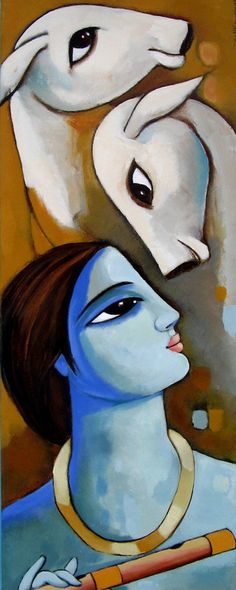 Sekhar+Roy+1957+-+Indian+Figurative+painter+-+Tutt'Art@+-+(1).jpg (308×770)