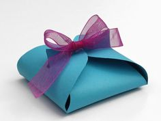 It's actually quite simple to make your own gift box!