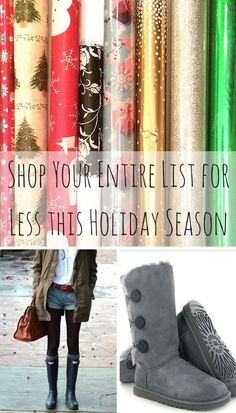 Check off your holiday gift list and your wish list in one stop! Shop top brands, like The North Face, Hunter, Ugg, and more at up to 70% off. Click the image above to download the free Poshmark app, and save more this season.
