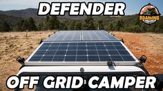 A solar panel system on a Land Rover Defender for long term off grid touring around Australia. Plenty of power to run a laptop, fridge, oven and accessories. Defender 90, Land Rover Defender, Solar Pannels, Living On The Road, Solar Power System, Off The Grid, Touring, Camper, Oven