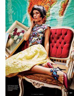 Gia Johnson for Elle, India, February 2015
