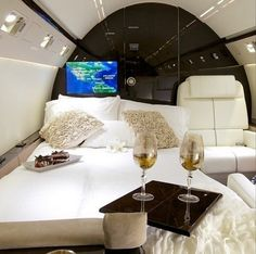 Gulf Stream Interior - Champagne & Desserts
