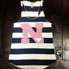 All about getting some new Husker gear for 2015!! Plaid Big N Striped Tank