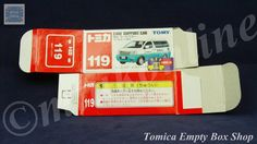 TOMICA 119C NISSAN ELGRAND SERVICE | 1/64 | ORIGINAL BOX ONLY | ST1 2001 CHINA