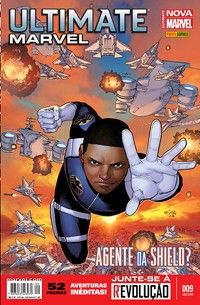 LIGA HQ - COMIC SHOP ULTIMATE MARVEL NOVA MARVEL #9 PARA OS NOSSOS HERÓIS NÃO HÁ DISTÂNCIA!!!