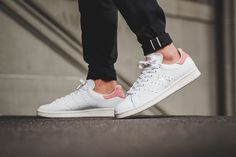 """The adidas Stan Smith """"Ray Pink"""" Blushes with Pastel Accents"""