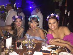 Flores en la boda