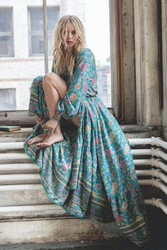 On the blog: Beautiful Bohemian Maxi Dresses