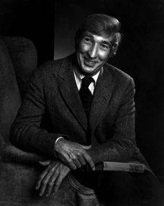 John Updike 1984 • Yousuf Karsh. Updike was an American novelist, poet, short story writer, art critic, and literary critic.