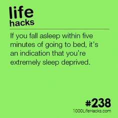The post – How To Tell If You're Sleep Deprived appeared first on 1000 Life Hacks. Simple Life Hacks, Useful Life Hacks, Life Skills, Life Lessons, Life Tips, Insomnia Cures, 1000 Life Hacks, Sleep Deprivation, Psychology Facts