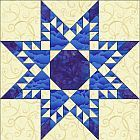 Feather Star Quilt Block Pattern Link