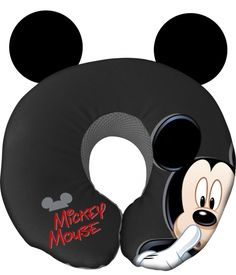 Neck pillow of Mickey Mouse Disney Home Decor, Disney Crafts, Disney Fun, Disney Style, Disney Travel, Mickey Mouse And Friends, Disney Mickey Mouse, Minnie Mouse, Disney Rooms