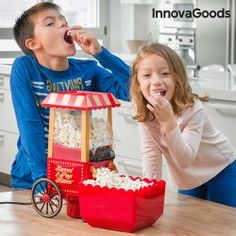 InnovaGoods Popcorn Maker Sweet & Pop Times 1200W Red