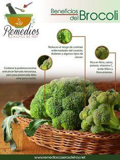 Beneficios del brocoli Healthy Food Habits, Healthy Tips, Healthy Recipes, Salud Natural, Living A Healthy Life, Juice Smoothie, Natural Medicine, Fruits And Vegetables, Superfood