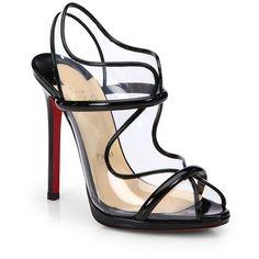 Ronda Patent Leather Slingback Sandals | Christian Louboutin | $865 | www.saksfifthavenue.com