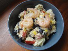The Urban Chicken: Tex-Mex Quinoa and Shrimp Salad