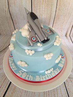 Fighter Plane Cake