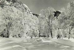 Ansel Adams American, 1902 - 1984 Yosemite Under Snow.