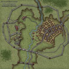 Moonfair City Map