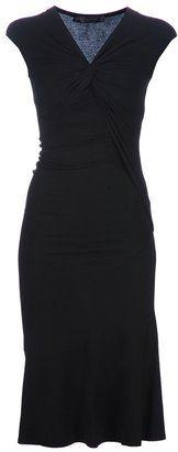 ShopStyle: Donna Karan fitted dress