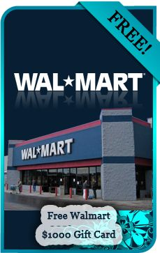 Walmart lovers get a free gift card