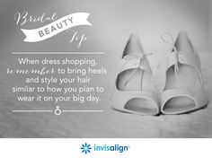 Finding the perfect wedding dress is truly something to smile about. Keep your overall style and the theme of your wedding in mind when trying on dresses.  #WeddingPlanning #BridalBeauty #DressShopping