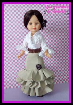 Vestido de flamenca para Nancy #lascreacionesdesonsoles