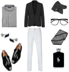 Look 1 | What to wear to a Black & White Party
